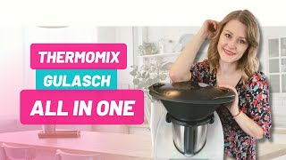 Thermomix® TM5® - Gulasch mit Kartoffeln - All in One Rezept