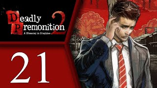 Deadly Premonition playthrough pt21 - FINALLY Coffee! What a View...And Riverboad Unlocking