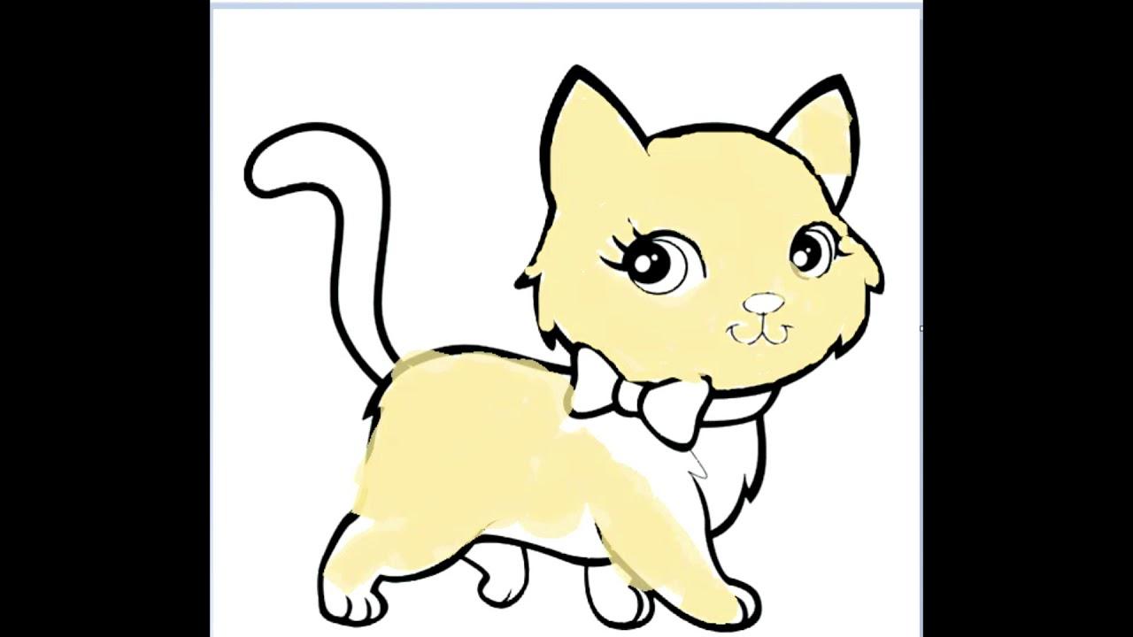 Kedi Boyama Oyunu Youtube