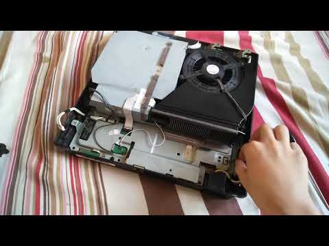 How to clean a PS3 Slim Fan and power supply CECH-2012A (In Detail)