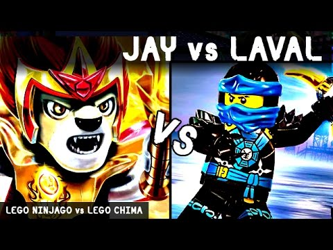 Jay vs laval lego battles fights walki lego ninjago vs lego chima youtube - Ninjago vs ninjago ...