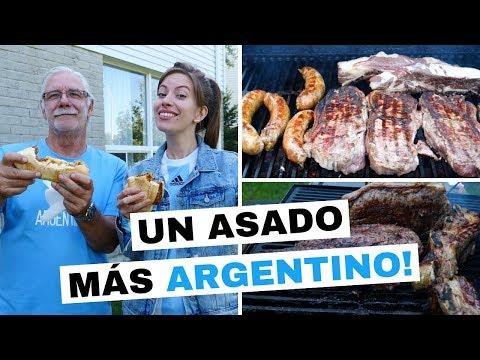 Asado Argentino en Canadá con Familia
