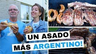 Bienvenidos a otros asado Argentino en Canadá! No esperábamos que n...