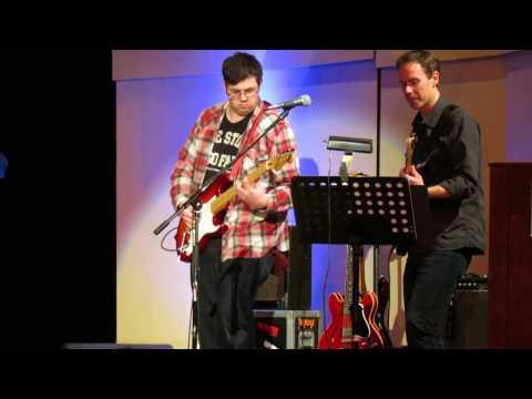 Evan Guthrie Rocks the Drendel Auditoriun in Hickory NC