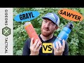 Gambar cover Water Filter Bottles: Grayl vs. Sawyer The One I Love To Use