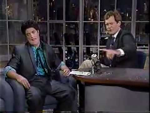 Chris Eliot as Jay Leno on David Letterman