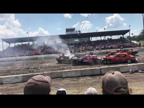 Powder Puff Arlington Raceway 2019 demo derby