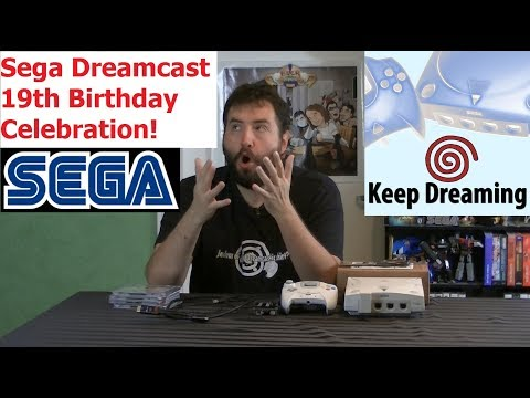 Keep Dreaming  Dreamcast 19th Birthday Special  Recap & Mystery Box  Adam Koralik