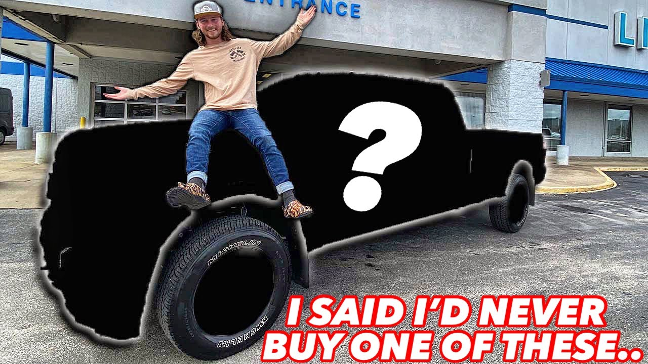 I BOUGHT A NEW TRUCK TO BUILD FOR SEMA 2021