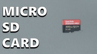 SanDisk Extreme Pro 400 GB microSDXC Memory Card Performance Test