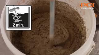 Snelle betonreparatie met PCI Repafast Tixo