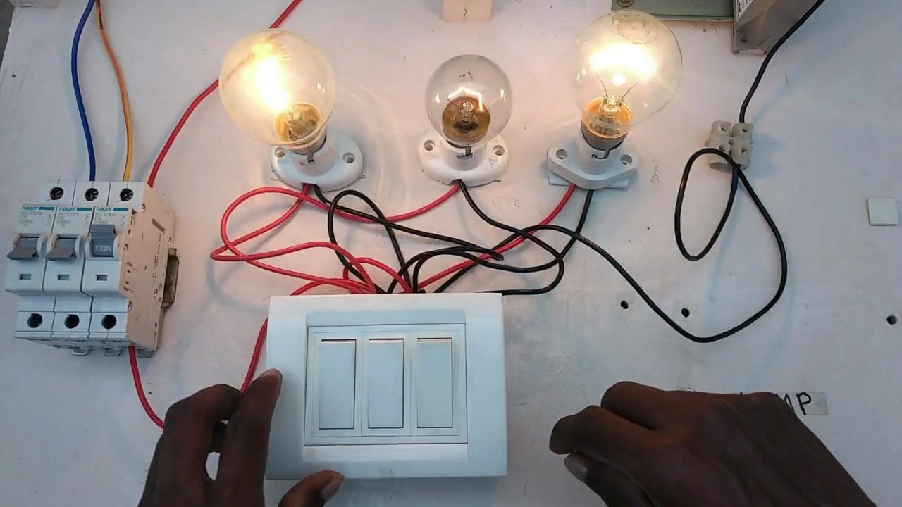 Light Switch Box Connection In Tamil Youtube Electrical Wiring A