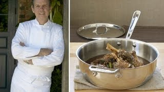 "Lamb Shanks Roasted ""al la Matignon"" with Chef Thomas Keller"