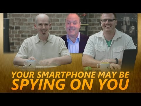 Your Smartphone May Be Spying On You - Interview with Dave Jevans (Proofpoint)