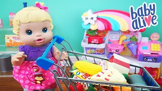 Baby Alive Goes Shopping Videos