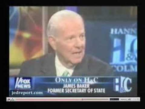 James Baker Talks Appeasement