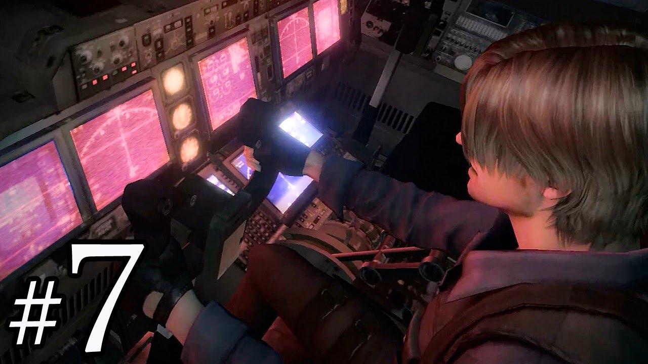 阿津 恐怖遊戲 惡靈古堡6 Resident Evil 6 里昂篇(7) 載具破壞神 - YouTube