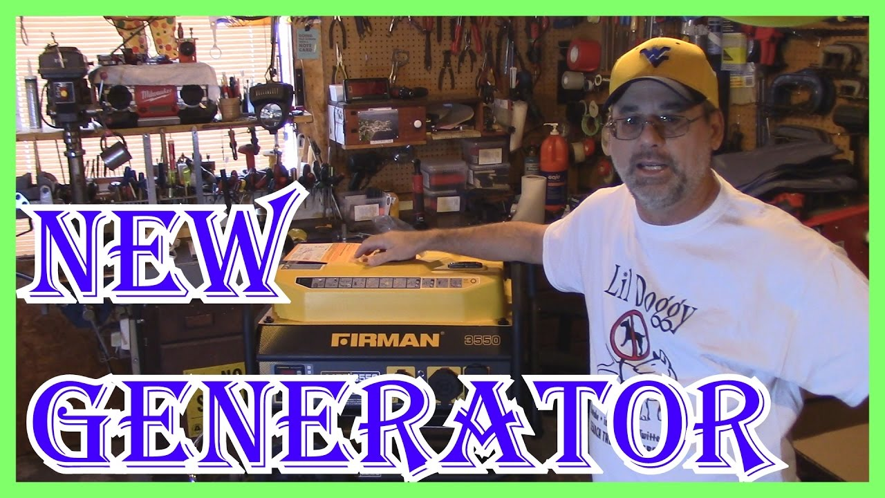 FIRMAN PO3501 3550/4550 WATT GENERATOR REVIEW FOR THE CAMP