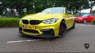 BEST BMW M4 Convertible EVER!? Carbon Edition w/ Akrapovic Exhaust! REVS & More SOUNDS!