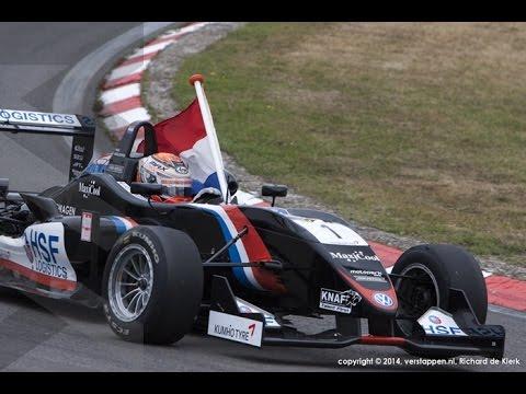 Zandvoort Masters 2014 - Max Verstappen - Formula 3 race