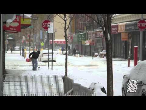 NYC digs out of Juno