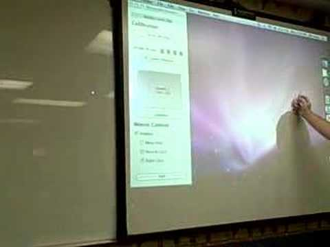 Wiimote Whiteboard for Macintosh Users