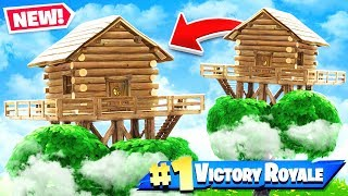 TREE HOUSE Challenge *NEW* Game Mode in Fortnite Battle Royale