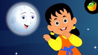 Chanda Mama Aao Na  - Hindi Animated/Cartoon Nursery Rhymes For Kids