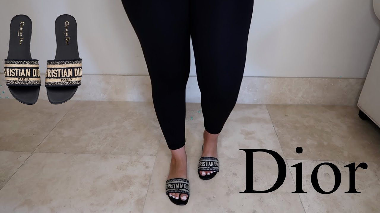 DIOR DWAY SANDAL REVIEW + ON FEET LOOK