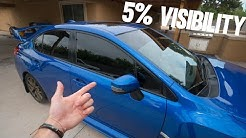 ILLEGAL Window Tint.. the reality!