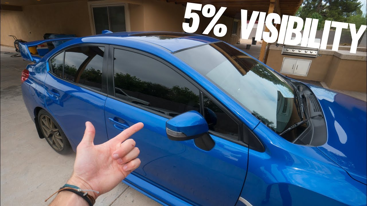 Window Tinting Laws >> Illegal Window Tint The Reality
