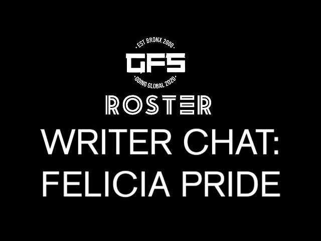 Roster Writer Chat: Felicia Pride