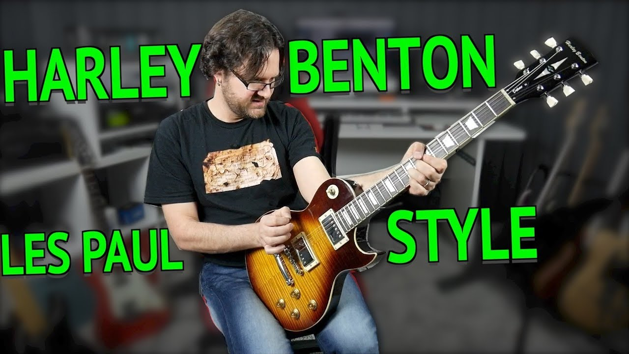 Harley Benton SC 550 Les Paul Style Guitar Review