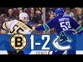 Canucks vs Bruins | Highlights (Oct. 20, 2018) [HD]
