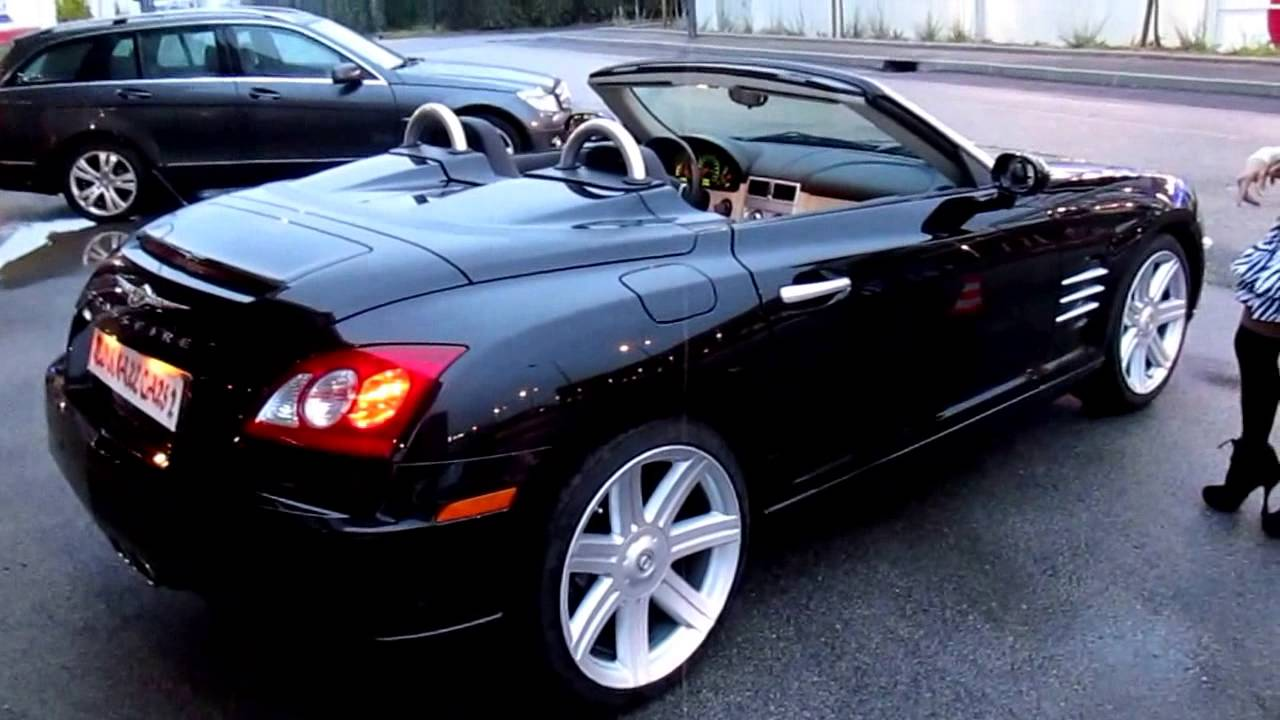 chrysler crossfire cabriolet 2008 youtube
