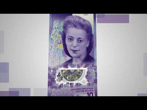 The $10 Bank Note Featuring Viola Desmond: Security Features
