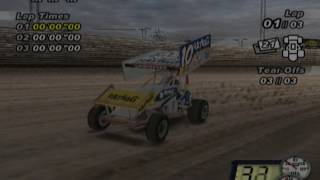 World of Outlaws: Sprint Cars 2002 (PS2 Gameplay)