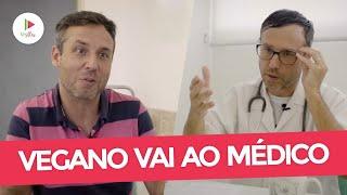 Vegano em consulta com o médico (Humor)