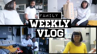 OUR WEEKLY FAMILY Vlog, SHOPPING, SIBLINGS CATCHUP AND JUST CHIL