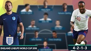 ENGLAND DREAM TEAM & POTENTIAL LINEUPS 2018 FIFA WORLD CUP RUSSIA | Ft. KANE, STERLING, LINGARD...