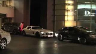 4 Mercedes SLS in Dubai!