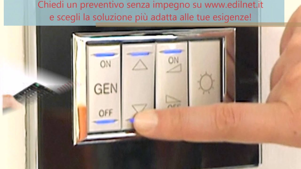 Domotica per la casa prezzi youtube - Impianto elettrico casa prezzi ...