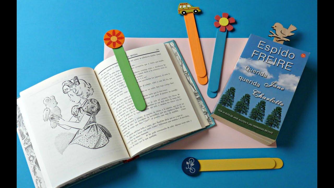 Diy c mo hacer un punto de libro marcap ginas bookmark - Como hacer un libro hueco ...