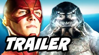 The Flash Season 2 Episode 15 King Shark Trailer Breakdown