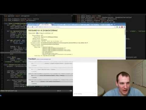 Python Django Web API Livestream