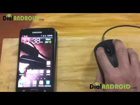 USB on-the-go(OTG) mouse & Keyboard on Samsung Galaxy Note N7000