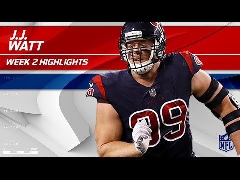 J.J. Watt is Too Strong For the Bengals O-line 💪 | Texans vs. Bengals | NFL Wk 2 Player Highlights