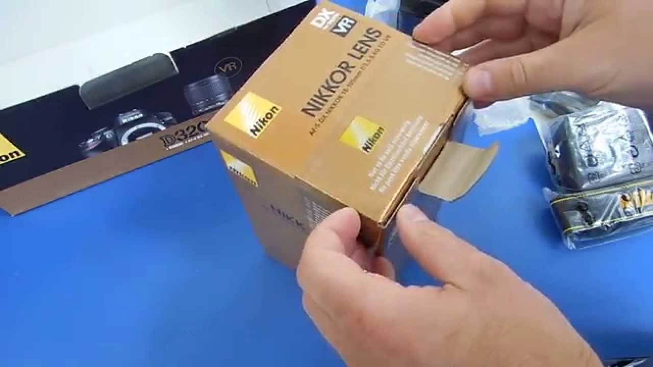Обзор. Зеркальный фотоаппарат Nikon D3200 Kit 18-55 II (черн - YouTube
