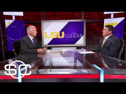 LSU Head Coach Ed Orgeron Previews Next Season | SportsCenter | ESPN