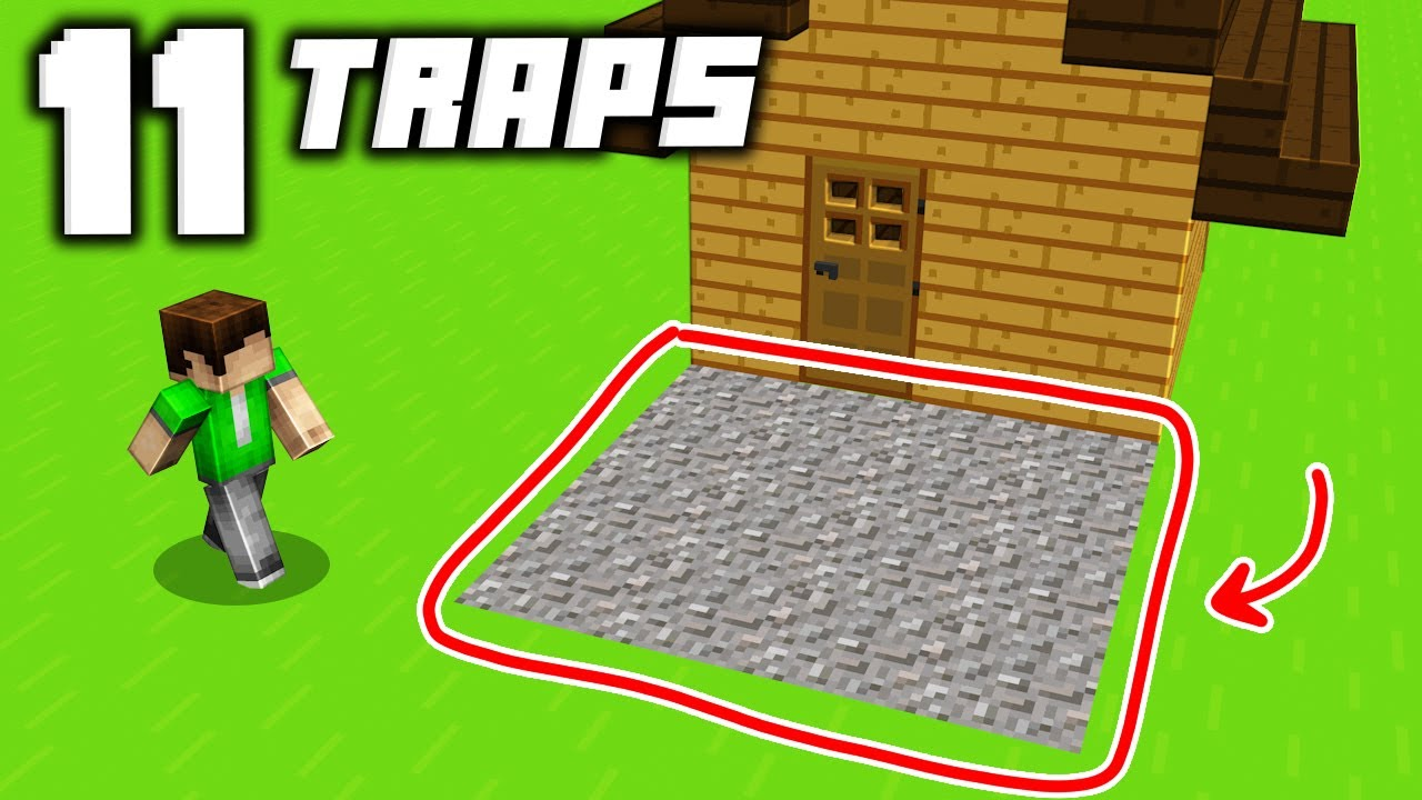Download 11 EASIEST Minecraft Traps That Everyone Should Know in Minecraft!